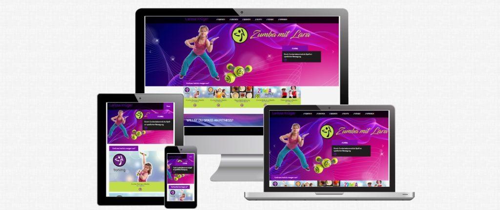Foto meiner neuen Homepage