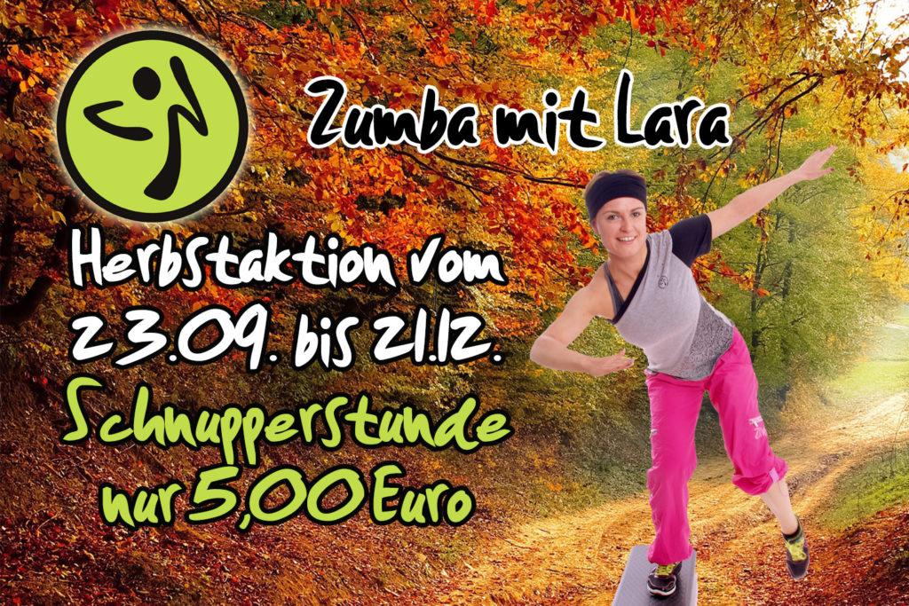 Schnupperstunde Zumba mit Lara